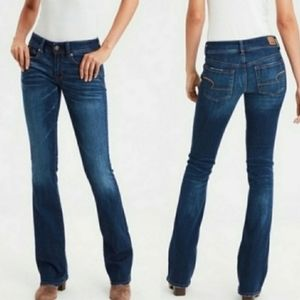 AMERICAN EAGLE GREAT CONDITION BOOT CUT LONG JEANS